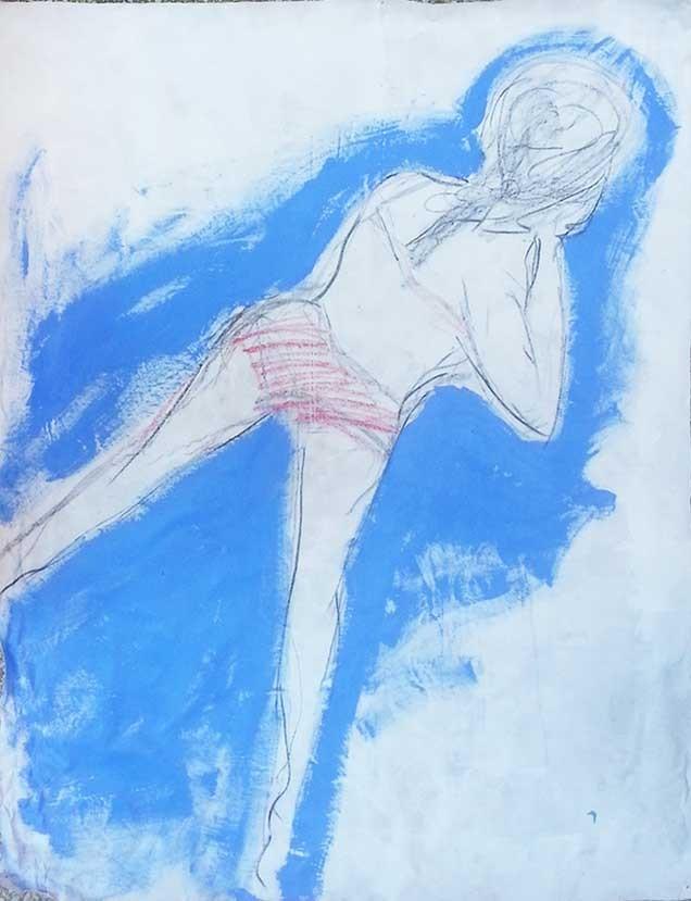 Une nouvelle peinture d'Adé Bernard